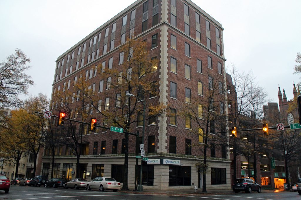 The Economic Development Authority has put out an RFP on its building at 501 E. Franklin St.Photo by Katie Demeria.