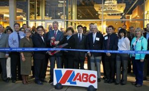 ABC officials marking the open of the Short Pump ABC store in December 2016.