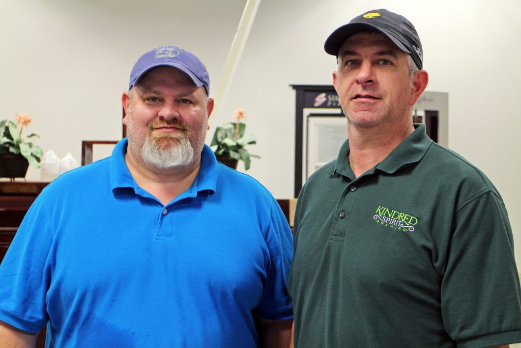 Brothers Joe (left) and Jason Trottier plan to open a new brewery in Goochland. Photos by Michael Thompson.