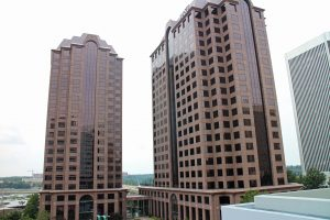 Riverfront Plaza towers