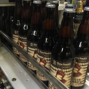 Three Notch'd recently released its Biggie S'mores imperial stout. Photo courtesy of Three Notch'd.