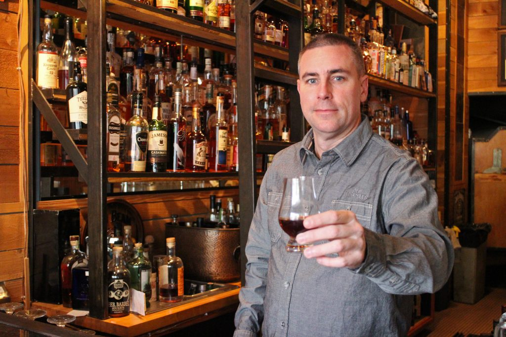 Mac McCormack owns a string of whiskey bars and restaurants. Photos by Michael Thompson.