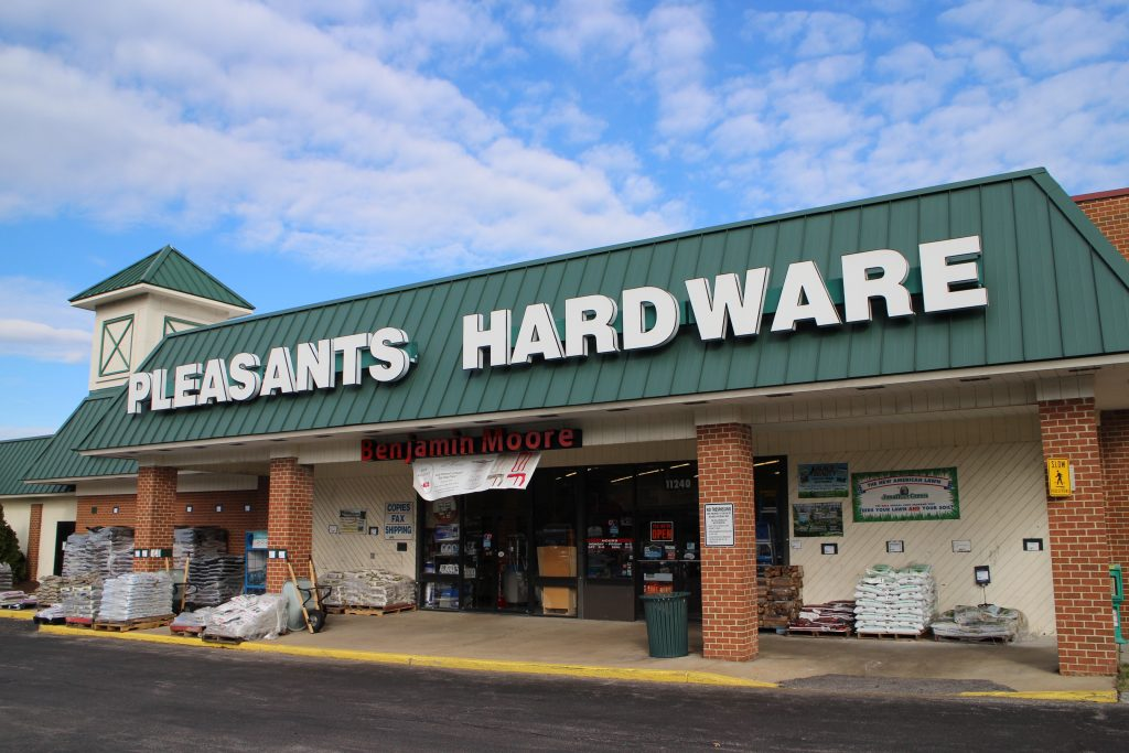 Pleasants Hardware hosted a media event at its Tuckahoe Village location Tuesday morning. Photos by Jonathan Spiers.