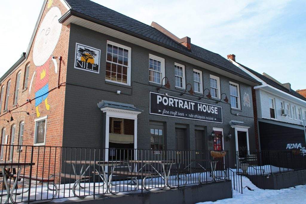 The former Portrait House space will be converted into a Citizen Burger Bar.Photos by Michael Thompson.
