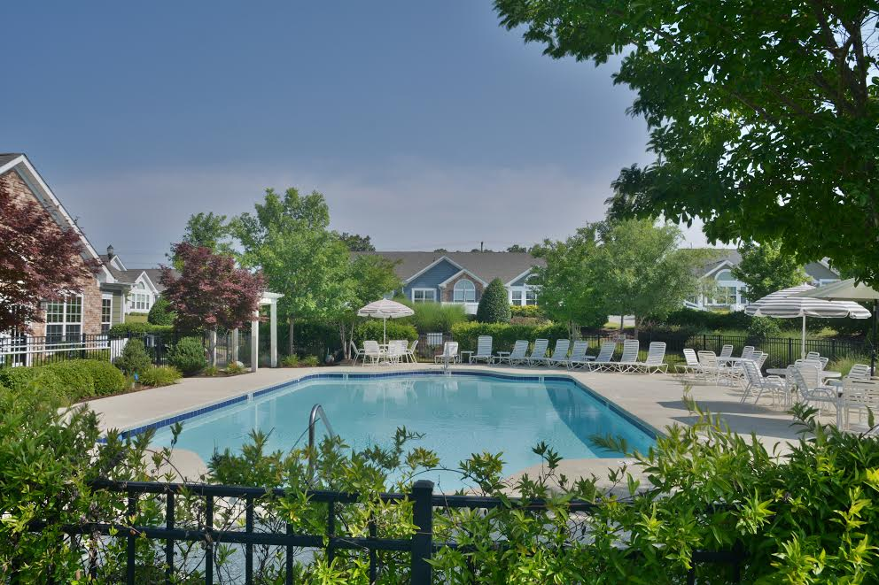 Villas at Ashlake will be similar to another Cornerstone development called Apex in North Carolina. Photo courtesy of Cornerstone Homes.
