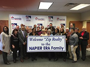 Zip Realty joins Napier ERA