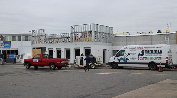 The Fuddruckers taking shape at the TA Travel Center. Photo by Michael Thompson.