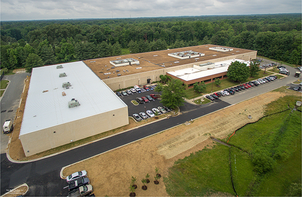 The 142,000-square-foot building is fully occupied by Colortree Group. Photo courtesy of Thalhimer.