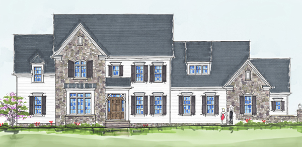 A rendering of the Home of Distinction