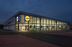 A Lidl store in Arcole, Italy.