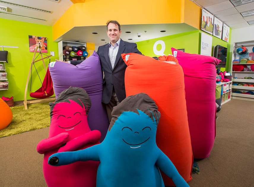 Yogibo founder Eli Levy started the company when he was in search of comfortable furniture for his pregnant wife.