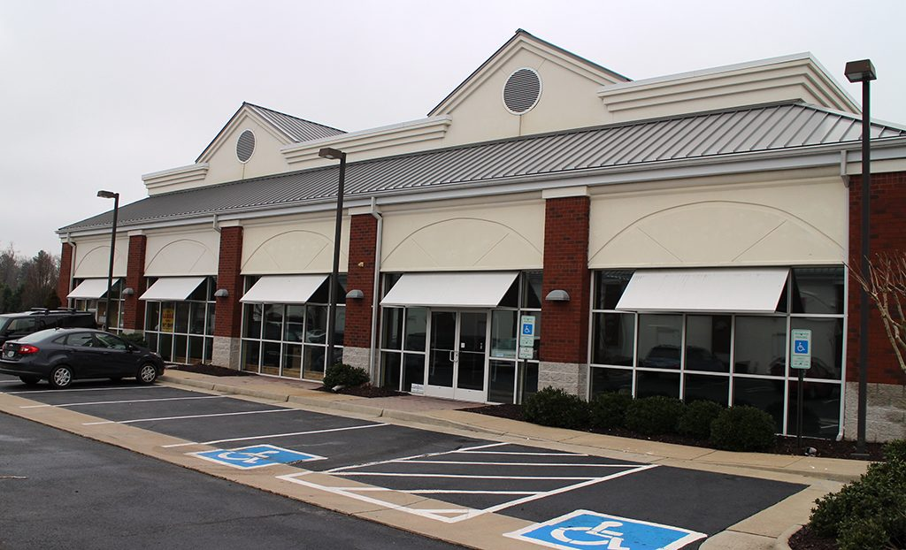 About a third of the strip center was vacant, according to a broker flier last year.