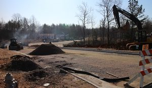 Work on about 400 homes, as well as a clubhouse and infrastructure are underway in Harpers Mill.