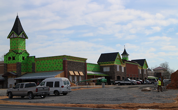 The Wegmans at West Broad Marketplace is taking shape for a planned opening later this year.