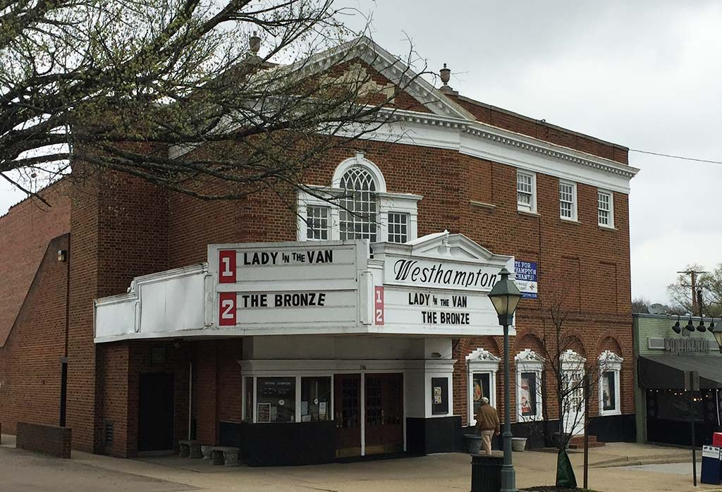 The theater and a building two doors down will be redeveloped. Photo by Katie Demeria.