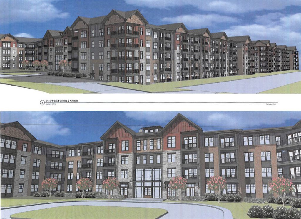 Renderings of the Bristol project.