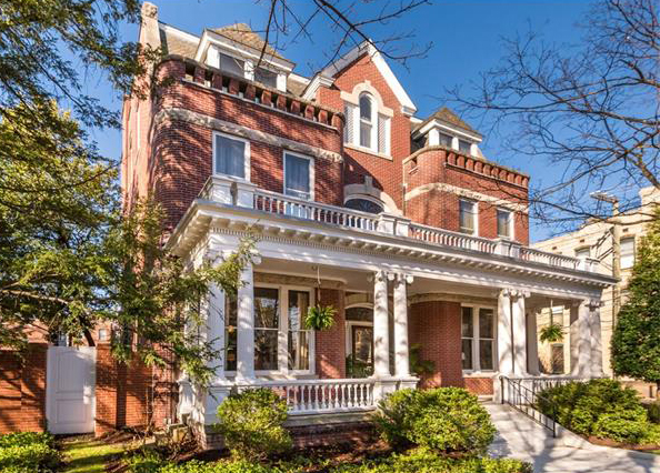 The house at 1853 W. Grace St. has been used as a bed and breakfast for the past dozen years. (Courtesy CVRMLS/Sara Eastman Photography)