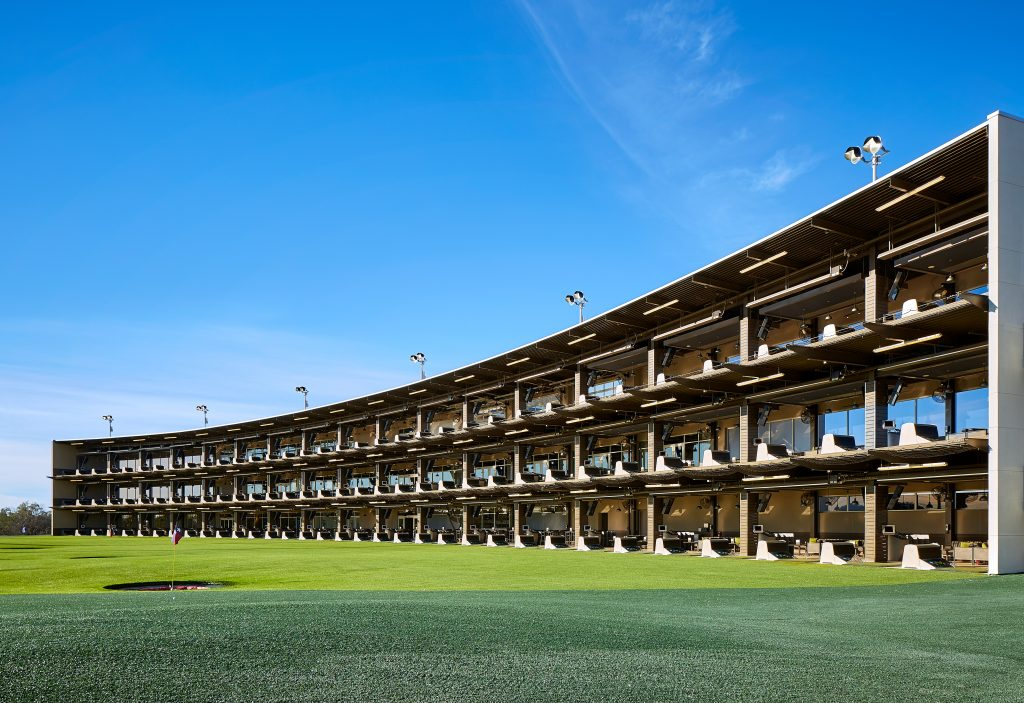 One of Topgolf's existing venues. Courtesy Topgolf.