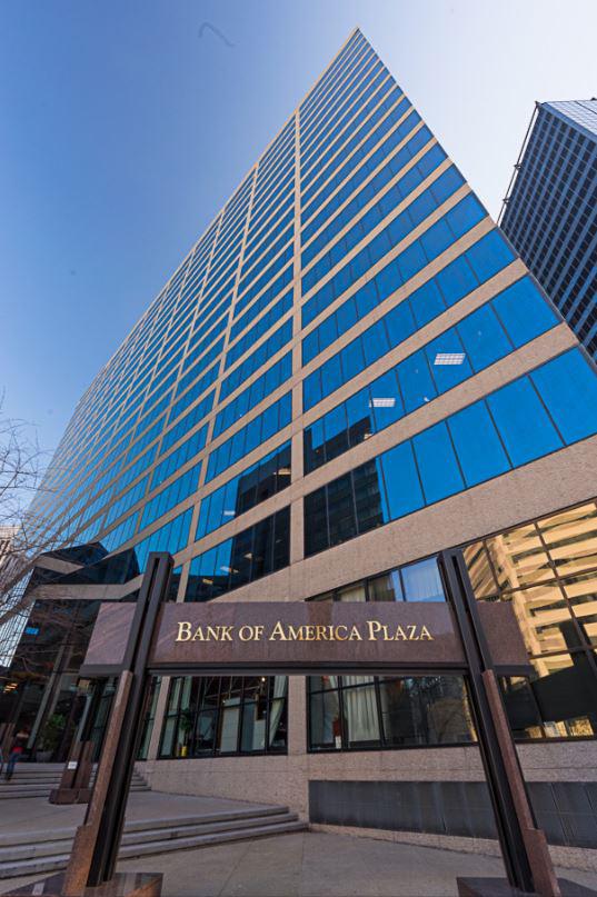 Bank of America Plaza in Nashville.