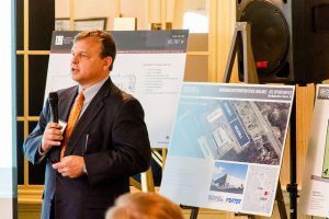 Alan Lewis of The Keith Corporation, the project's developer.