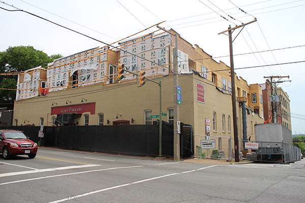 Glave & Holmes Architecture is designing the 12 apartments that Fulton Hill Properties is adding above its space.