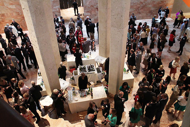PR professionals converged on the Virginia Museum of Fine Arts for this year's PRSA awards. Photo by Jonathan Spiers.