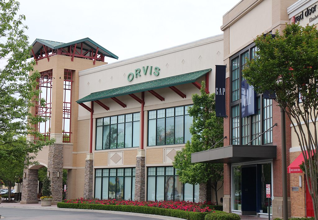 Orvis' Short Pump store is a prime two-story spot that faces West Broad Street.