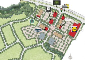 A site plan for GreenGate.