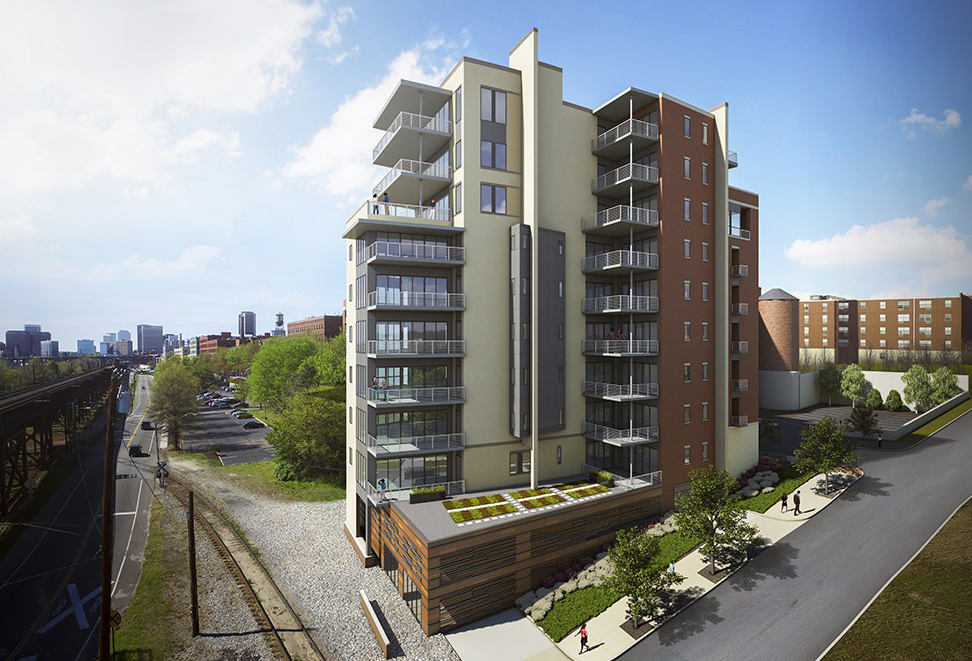 A rendering of the view from Canal and Pear streets. Courtesy of One South Realty.