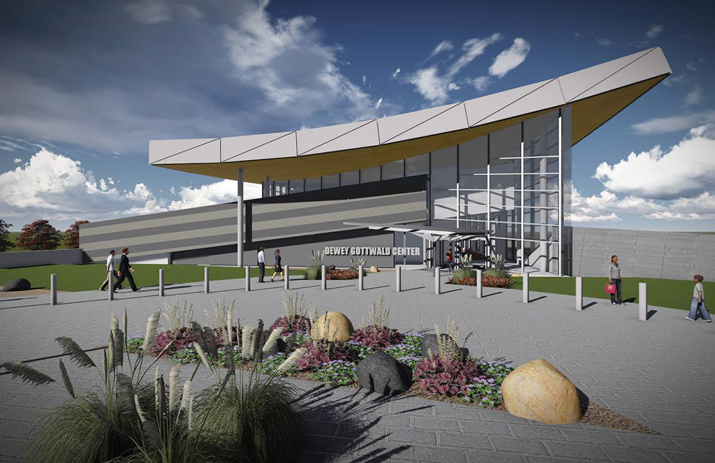 A rendering of the Science Museum's forthcoming expansion.