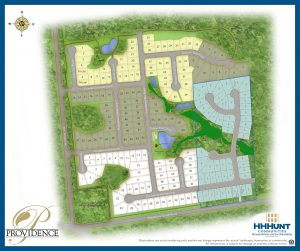 The 51 homes would be built to the east of the existing development, shown here. (Courtesy of HHHunt)