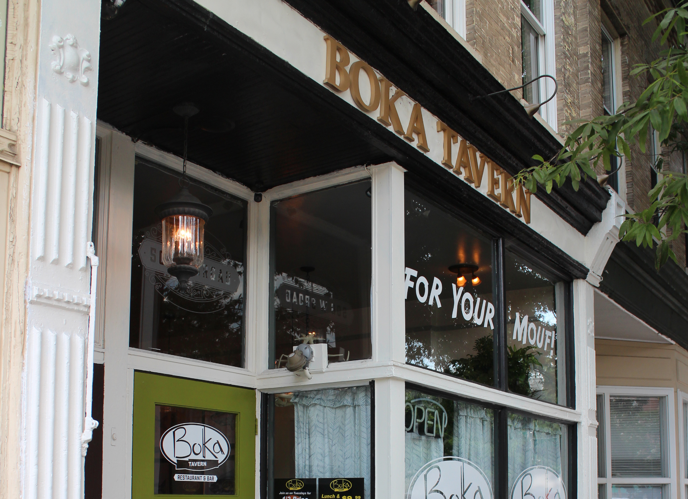 Boka Tavern, located at 506 Broad St., replaced Patrick Harris' Antler & Fin restaurant Wednesday.  J. Elias O'Neal.