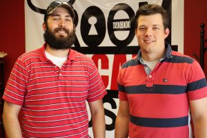 Josh Thornhill, left, and Brandon Clark.