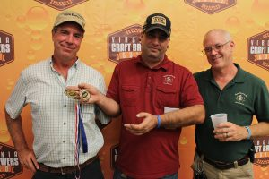 The Manchester-based Legend Brewing Co. team took home two medals during the fifth annual Virginia Craft Brewers Cup. (J. Elias O'Neal)