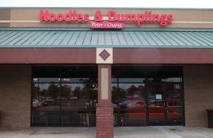 Peter Chang opened Noodles & Dumplings Monday at 11408 W. Broad St. in Short Pump. (J. Elias O'Neal)