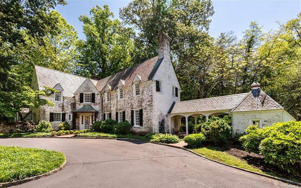 The home at was listed for . (Courtesy CVRMLS)