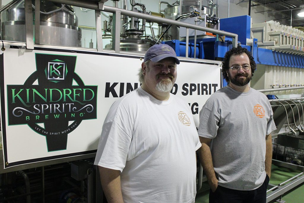 Owner and General Manager Jason Trottier (left) and Brewmaster Lee Lonnes. (J. Elias O'Neal)