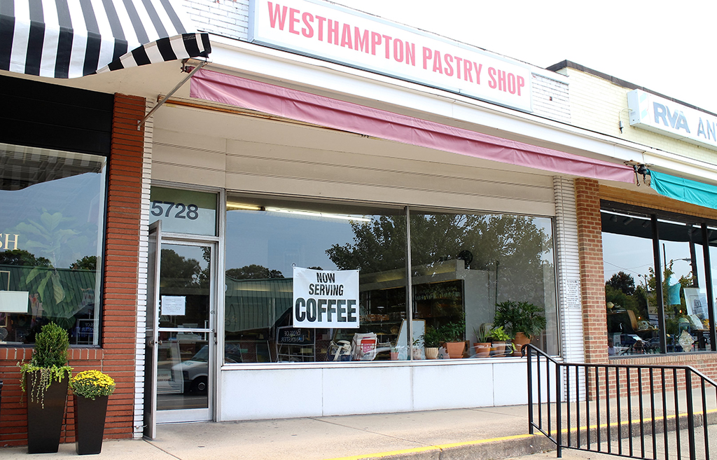 The Westhampton Pastry Shop at 3222 Patterson Ave. changed hands last month. (J. Elias O'Neal)