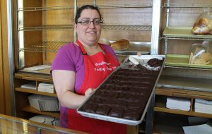 Oley said Westhampton's brownies were a major catalyst to his buying the bakery. (J. Elias O'Neal)