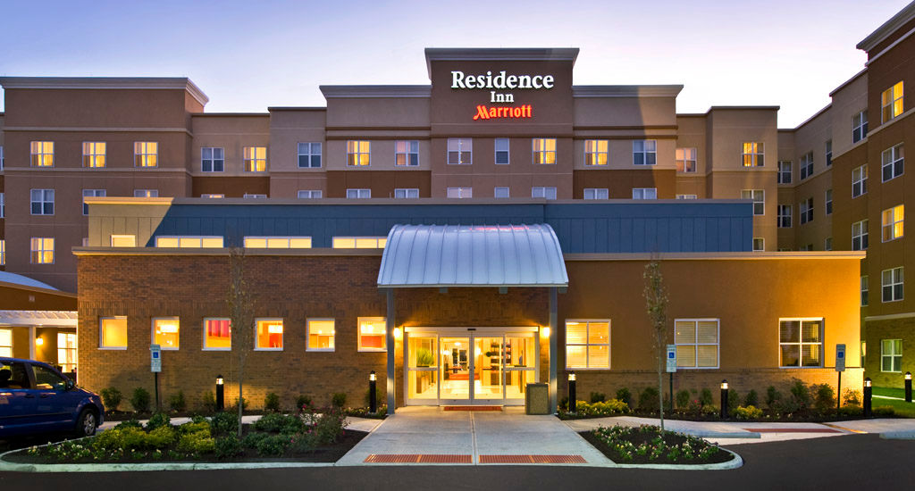 A rendering of the upcoming Residence Inn at