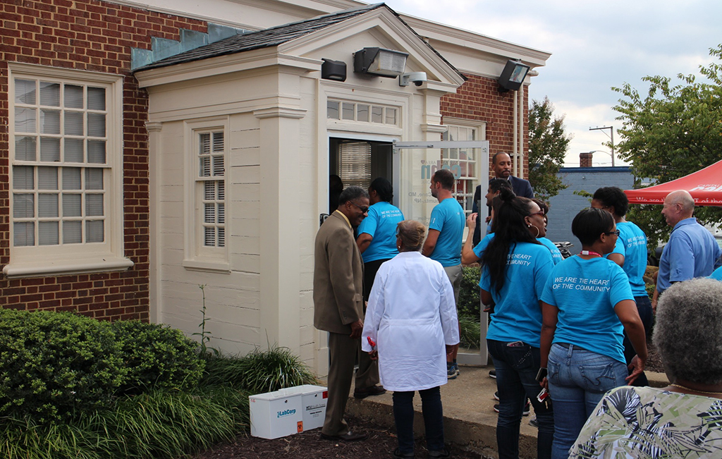Capital Area Health Network opened its 2,600 square foot facility at 1718 Williamsburg Road Thursday. (J. Elias O'Neal)