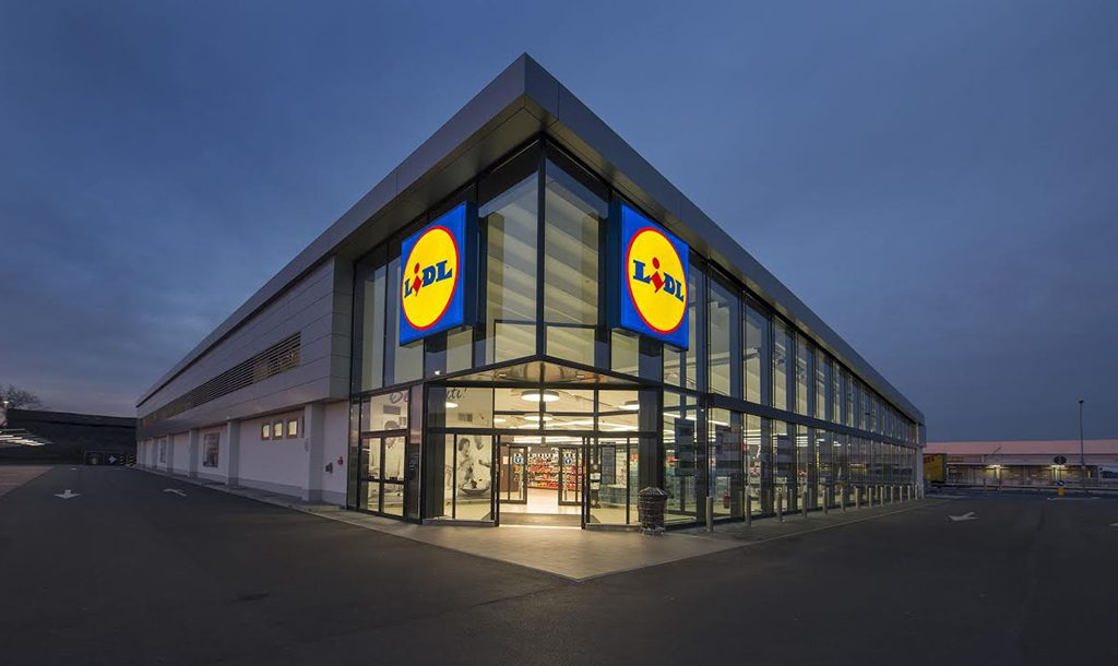 A Lidl store in Arcole, Italy. (Courtesy Lidl US)