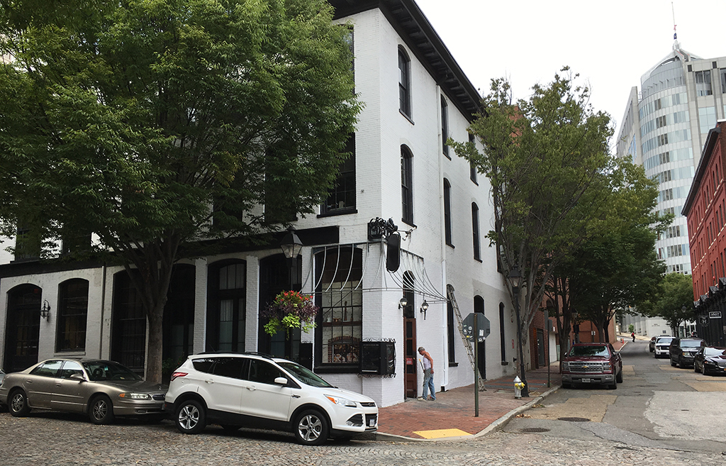 Mijas, a fine Mexican restaurant, is set to go into the former La Grotta Ristorante at 1218 E. Cary St. in Shockoe Slip. (J. Elias O'Neal)