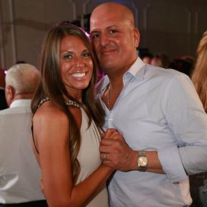 Carlos Londono (right) with his wife, Adrienne, is the owner and operator of Mijas, which is set to open in October. (J. Elias O'Neal)