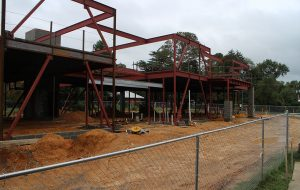 New Community School hopes to have the building ready by early spring. (J. Elias O'Neal)