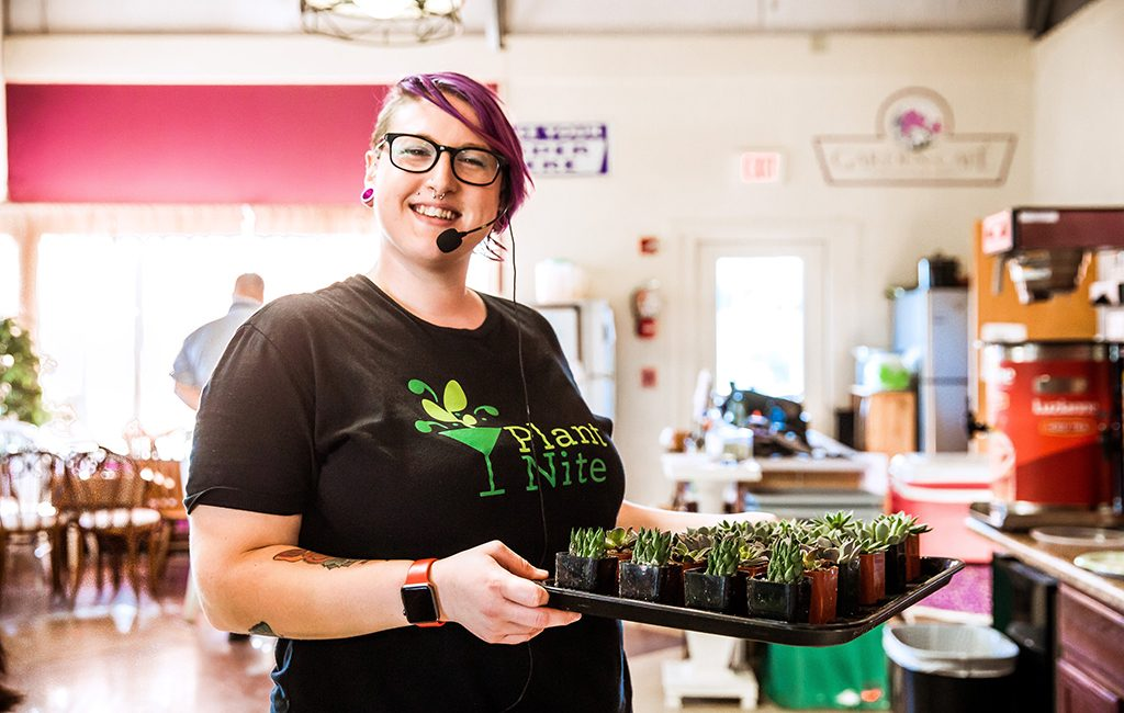 Heather Kirkpatrick, Plant Nite director of operations for Richmond, is leading the task to grow the new entertainment concept across the region. (Janpim Wolf Photography)