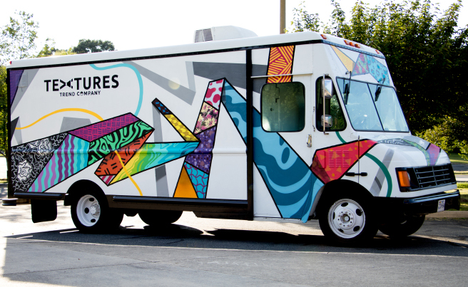 Richmond-based Textures launched its fashion truck in July. (Courtesy Textures)