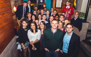 Wealth Forge at last year's holiday party. (Courtesy WealthForge)