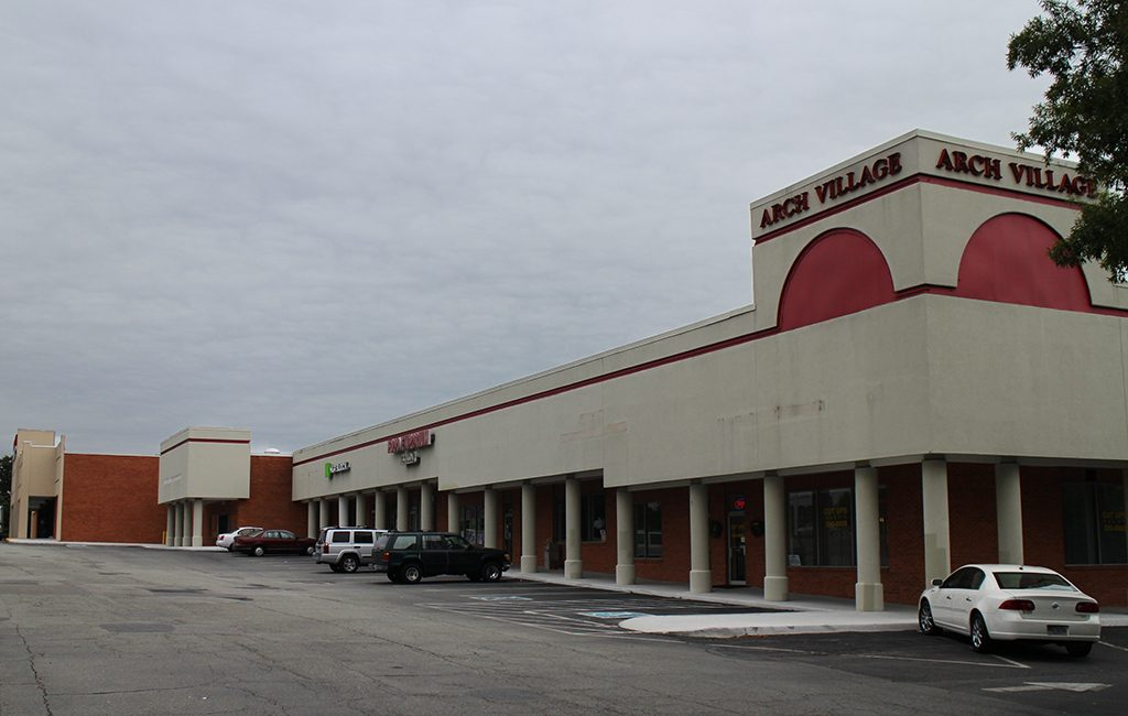 The 54,000-square-foot shopping center was built in 1977.