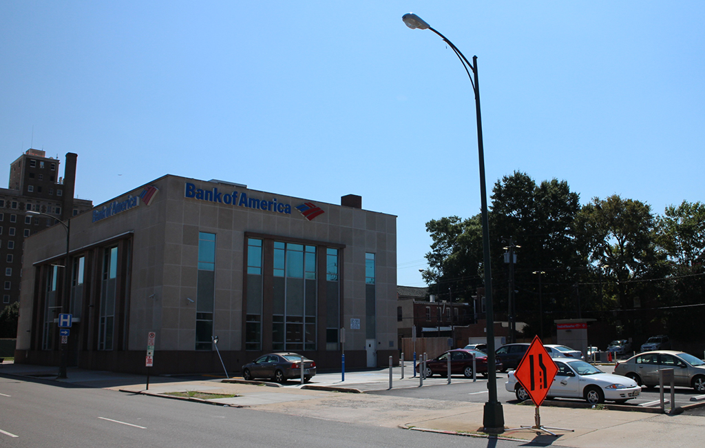 The 14,000-square-foot Bank of America branch at 2601 W. Broad St. and two adjacent properties were purchased for $1.2 million. (Michael Thompson)